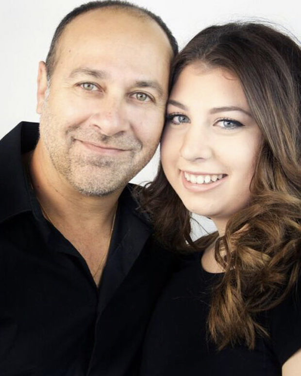 Renato and Daniella Maleca Fortelli Salon Oakville Ontario