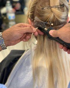 siesta hair extensions fortelli salon spa oakville ON
