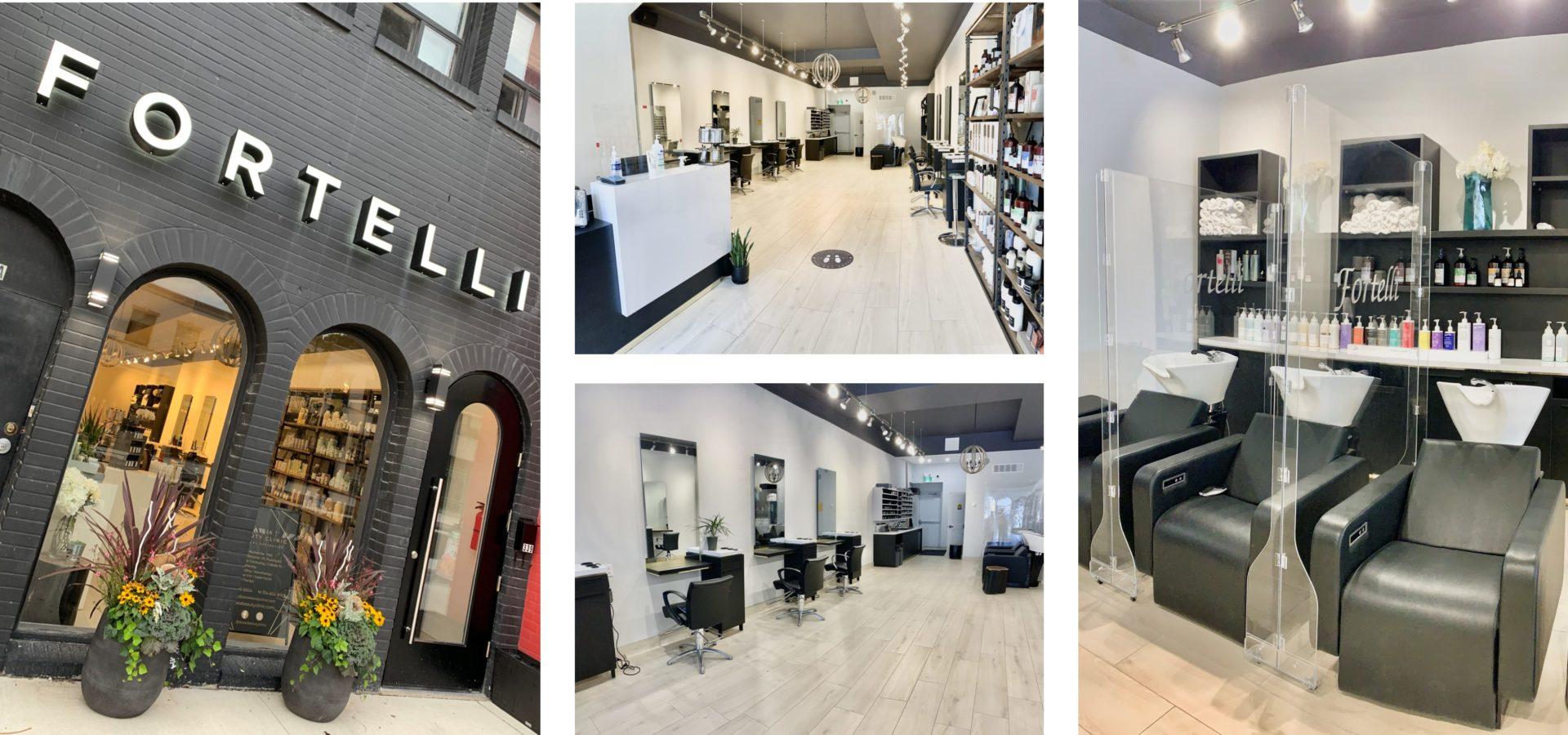 fortelli hair salon oakville