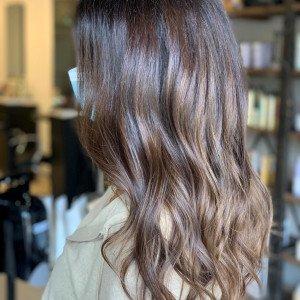 brunette-balayage-highlights-oakville-ON