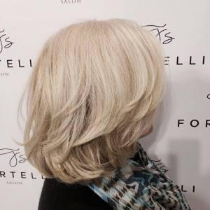 short-blonde-hairstyles-fortelli-salon-spa-oakville-ON