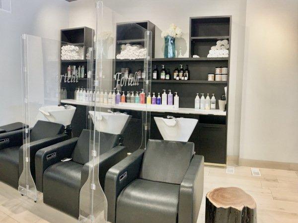 Fortelli Hair Salon in Oakville ON on Lakeshore